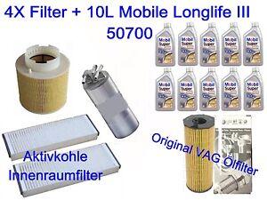 Inspeccion-Paquete-Filtro-AUDI-A6-4f2-4f5-C6-2-7-3-0-TDI-QUATTRO-4xfilter-10l