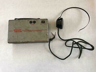 Eico Model 803 Vintage Geiger Counter With Headset Brooklyn Ny Usa