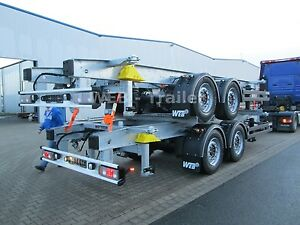 Web-Trailer WEB -Trailer ZWF/W-18 385/55 22,5 1.120 -1.320mm