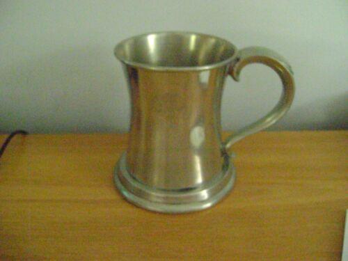 Schaefer Beer Pewter Stein/Mug ~ F. & M. Schaefer Brewing Company