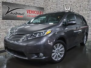 2017 Toyota Sienna XLE 7 Pass*LIMITED*AWD*