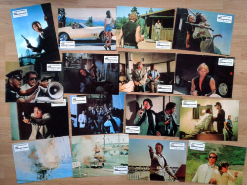 CLINT EASTWOOD: DIRTY HARRY -  THE ENFORCER - set of 16 German lobby cards