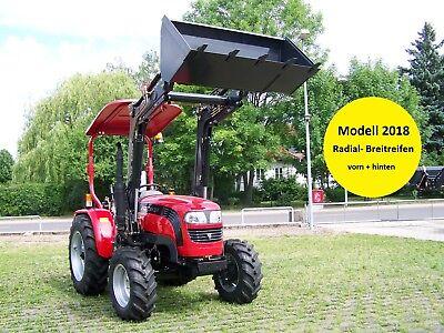 Neu!!! 25 ps allrad traktor schlepper bulldog foton te254 frontlader
