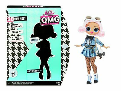 LOL Surprise! OMG Uptown Girl Fashion Doll with 20 Surprises