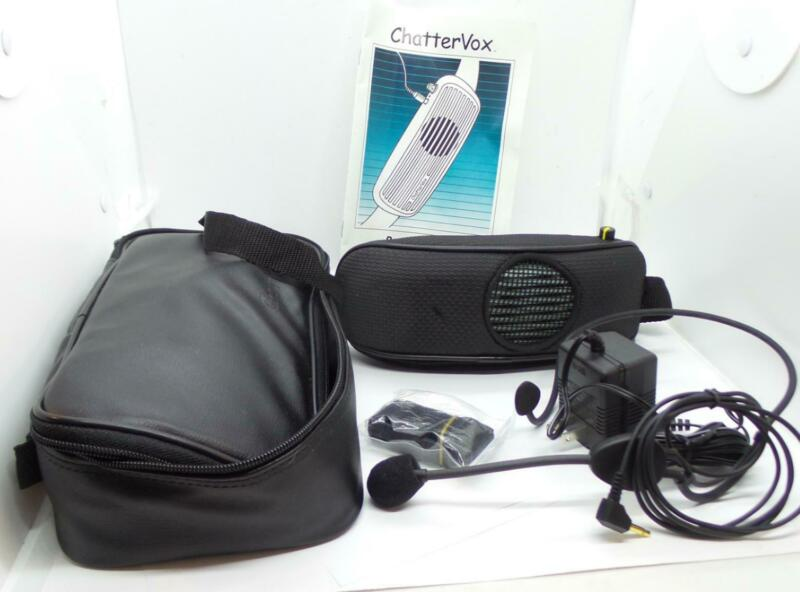 ChatterVox 100 Portable Voice Amplification System with Headset & Case