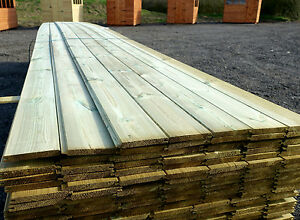 Tongue groove cladding wood timber ebay - Exterior tongue and groove cladding ...