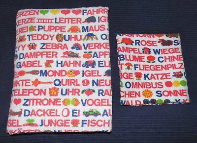 Bettwäsche Stoff vintage 70er fabric bedding 70s nähen diy (Diy Kinderbett)