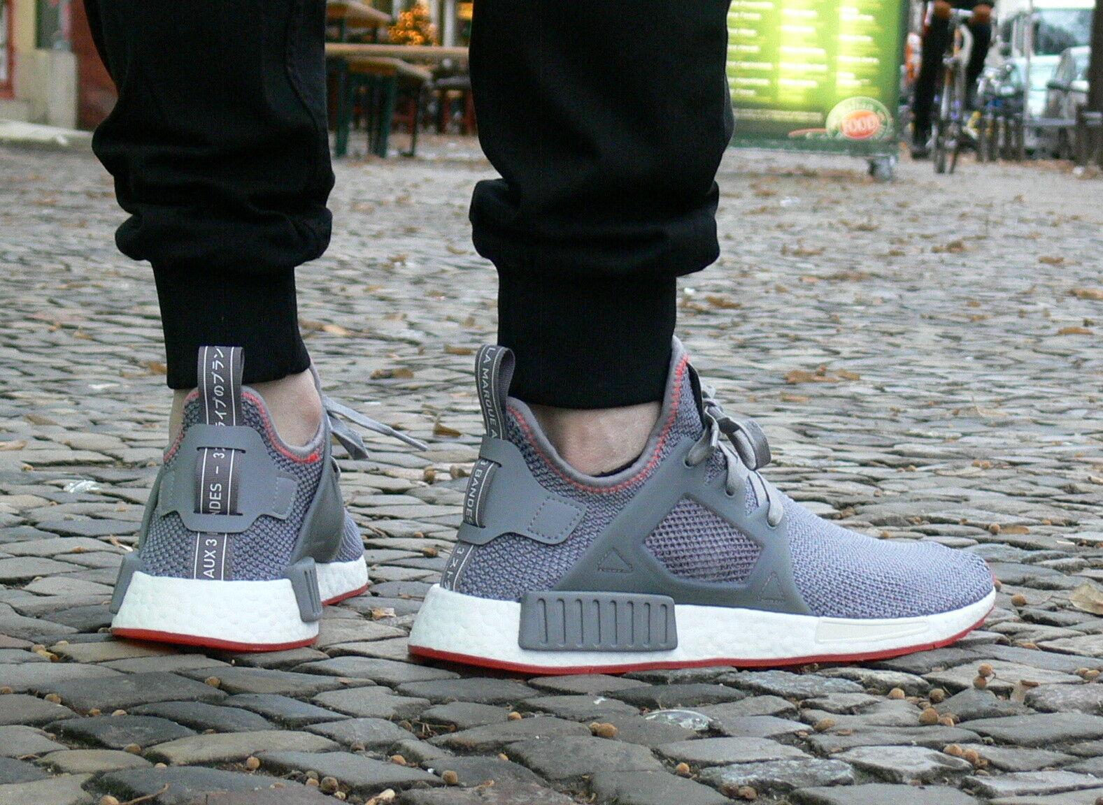 adidas NMD_XR1 Primeknit Schuh BY9925 Core Grey Grau Turnschuh BOOST Sohle NEU