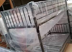 BRAND NEW SINGLE BUNK BED  BLACK  strong and sturdy new in box Old Guildford Fairfield Area Preview