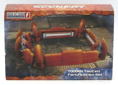 Micro Art Studio T00065 TauCeti Fortification Set (Terrain) Defence Line Walls