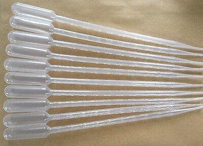 "10 x 10ml LARGE PLASTIC PIPETTES 11.5"" LONG PIPPETTE"