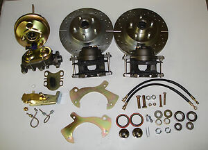 1957-1964  FORD FULLSIZE GALAXIE  FRONT DISC BRAKE CONVERSION