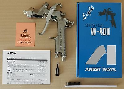 ANEST IWATA W-400 142G 1.4mm Gravity Spray Gun without Cup New from Japan