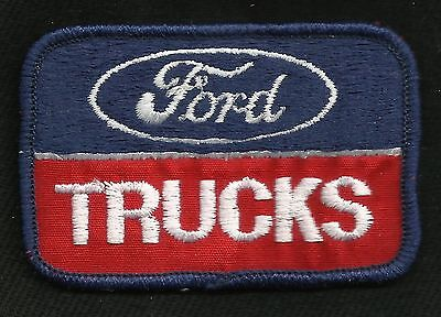 VINTAGE Style Ford TRUCKS Automotive HOT ROD GREASER JACKET Collectors Patch