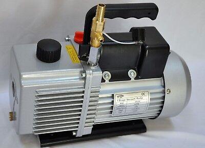 Rotary Vane Vacuum Pump 6cfm .5hpcheck Valve Hvac Surgedelaval Pulsator Milker