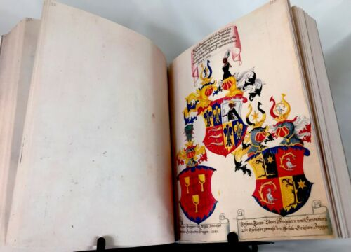 THE SECRET BOOK OF HONORS OF THE FUGGER FAMILY, 1545 Facsimile