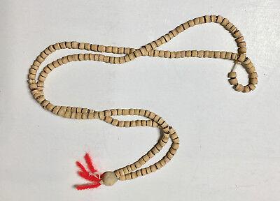 TULSI MALA SMALL BEADS BRACELET NECKLACE KANTHI MALA JAPA MALA PRAYER
