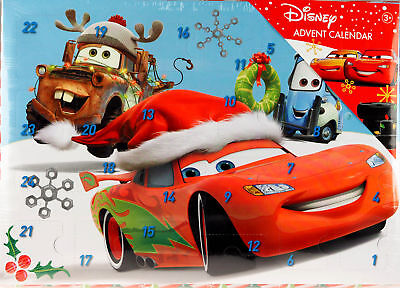 Disney Cars Christmas Toy & Stationery Treats Gift Advent Calendar