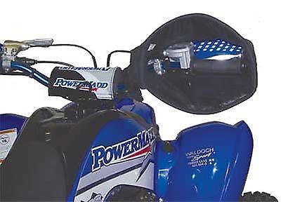 - ATV Motorcycle Scooter Snowmobile Mitts Star Handlebar Mittens HandGuards Black