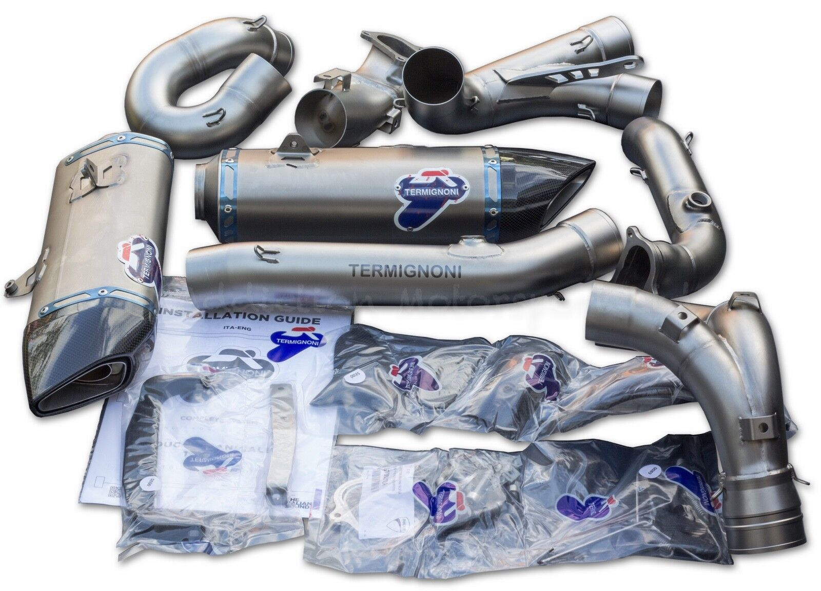 Ducati 1199 Panigale Slip on Exhaust System