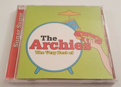 THE ARCHIES - THE VERY BEST OF  [CD, 1999, CULT RECORDS] RARE  LTD ED. GOLD