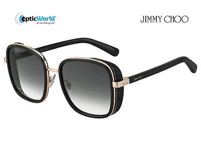 JIMMY CHOO - ELVA Designer Sunglasses with Case (All Colours)