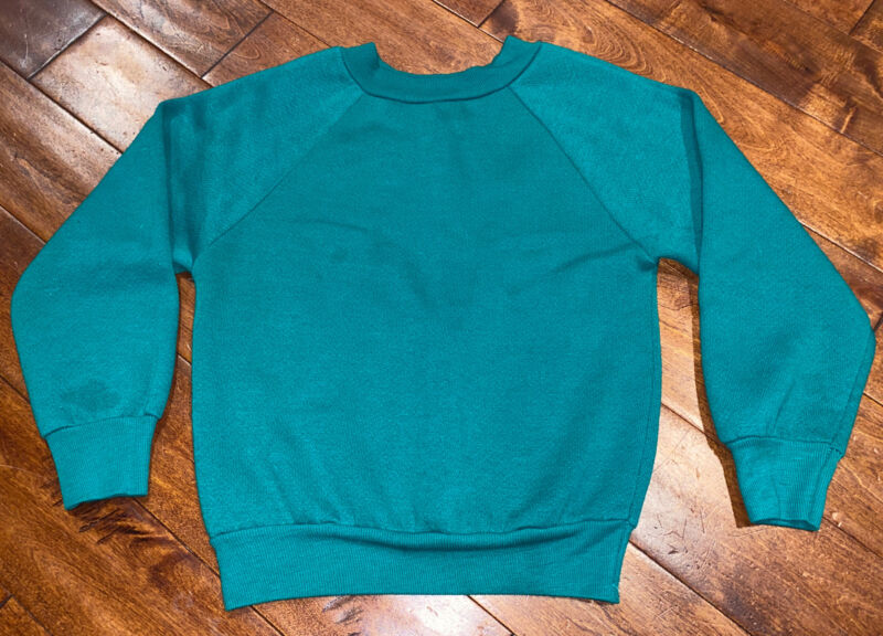 Vintage Kids Single Stitch Raglan Sweatshirt 5