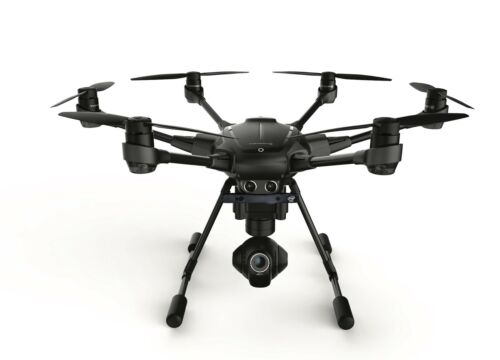 YUNEEC Typhoon H Hexacopter, ST16 Pro, GCO3+ Camera w/ Real Sense Installed