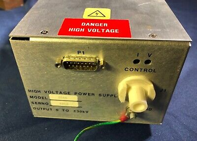 Spellman Bertan High-voltage Power Supply Model 2566 -30kv Hv