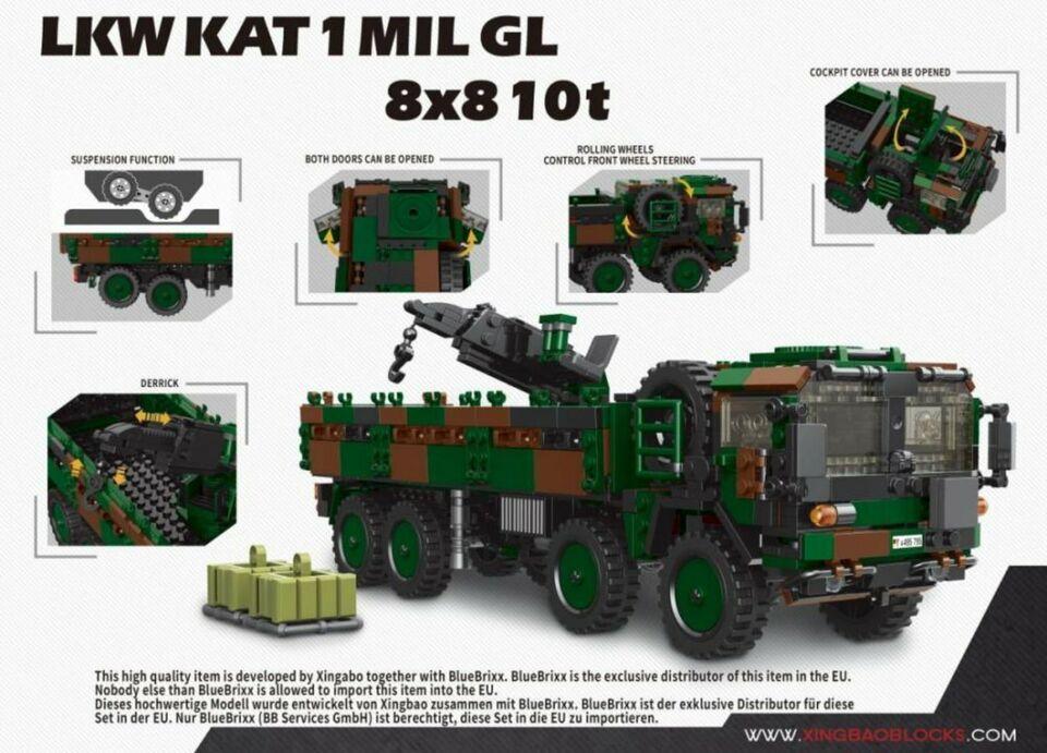 Xingbao XB-06052 Bundeswehr Modell LKW KAT 1 MIL GL 8x8 10t  NEU in Hannover