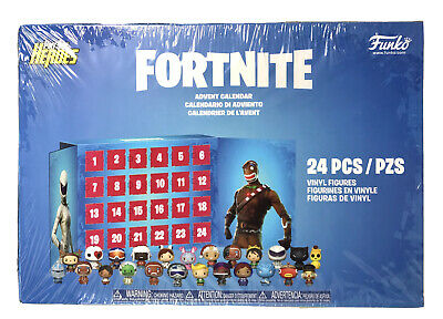 Fortnite Funko POP Advent Calendar 24 Pocket Pint Size Heroes BRAND NEW