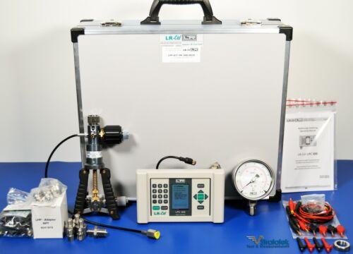 LR-Cal LPC 300 Pressure Calibration Kit Hand Pump Pressure Gauge 565 PSI