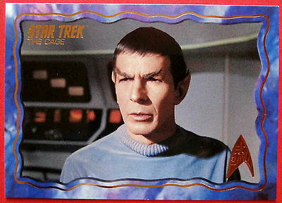 """STAR TREK TOS 50th Anniversary - """"THE CAGE"""" - GOLD FOIL Chase Card #3"""