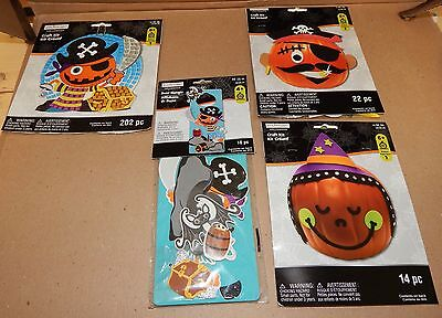 Halloween Craft Kits 3 each Kids Door Hanger Kit 254pc Total Foam Shapes - Kids Halloween Craft