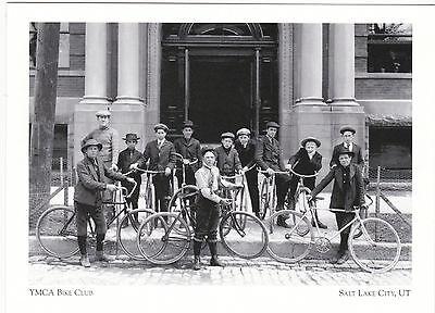 "+PC-Postcard-""YMCA Bike Club"" -1906 Outing- /Salt Lake City, Utah/ (A65-2)"