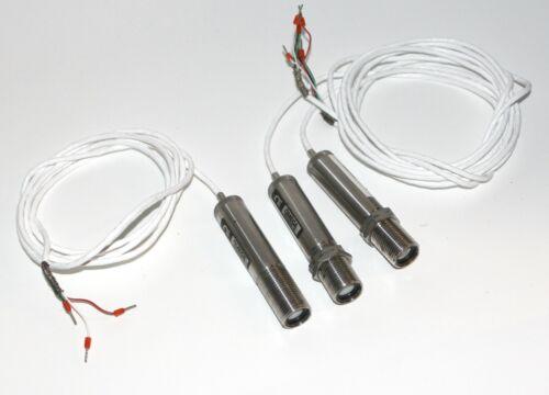 LOT 3 OMEGA OS136-1-MA Temperature Sensor, Infrared, OS136 Series, Non-Contact,