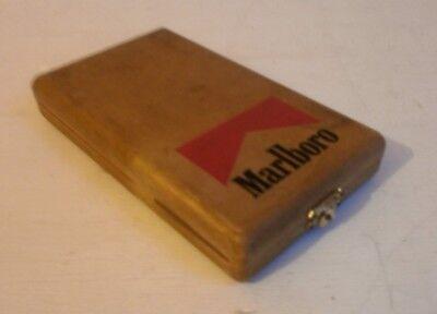 Vintage Marlboro cigarettes cribbage board