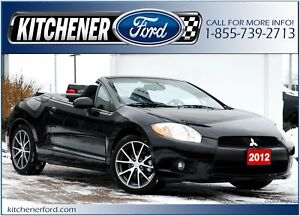2012 Mitsubishi Eclipse Spyder GS CONVERTIBLE   ONLY 11,289 K...