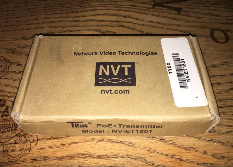 NVT NV-ET1801 TBus PoE+ Transmitter