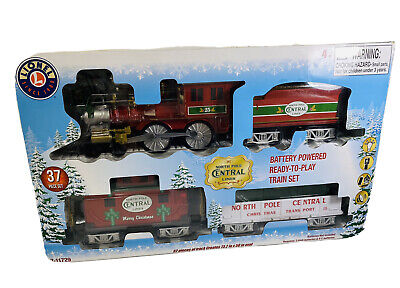 Lionel 711729 North Pole Central Christmas Train Set Open Box Ready To Play