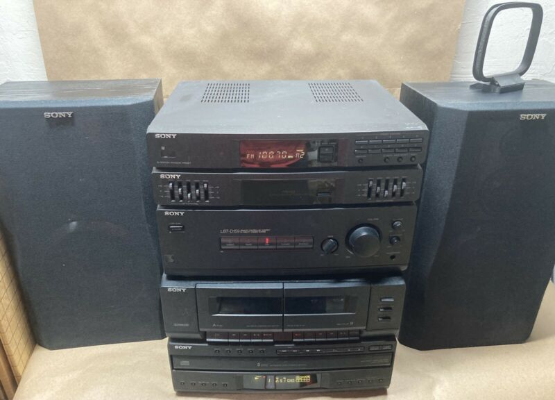 Sony Stereo System Vintage 1990's