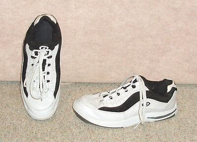 Men's white/black DEXTER bowling shoes , sz 8