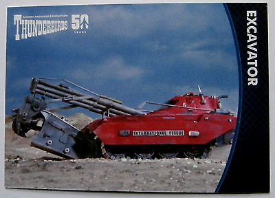 THUNDERBIRDS 50 YEARS - Card #49 - Gerry Anderson - Unstoppable Cards Ltd 2015