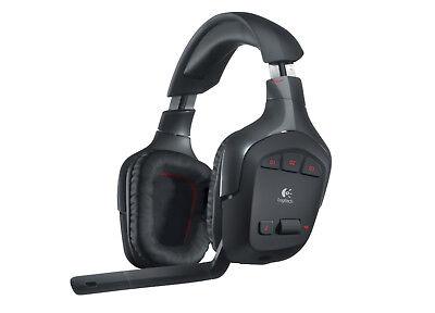 New Logitech Wireless Gaming Headset G930 with 7.1 Surround Sound(Black)