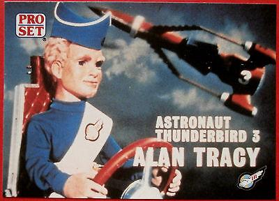 Thunderbirds PRO SET - Card #029 - Pilot Thunderbird 3, Alan Tracy - Pro Set