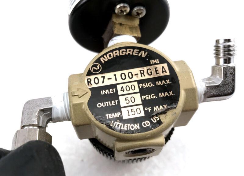 Norgren R07-100-RGEA Pressure Regulator with Gauge