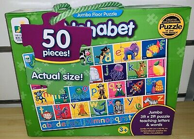The Learning Journey Jumbo Floor Puzzle - Alphabet