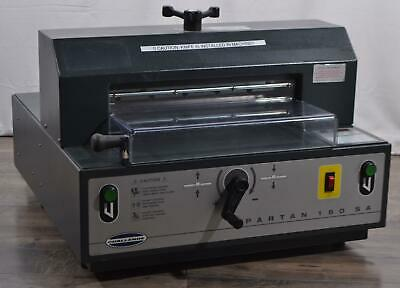 Challenge Spartan 150 Sa Professional Table-top Paper Cutter Machine 15 12 Hp