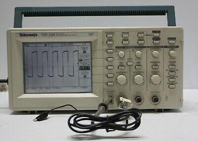 Tektronix 100mhz Tds220 With O.e.m Probe.