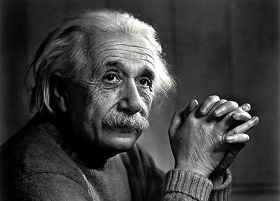Albert Einstein PHOTO Physicist Genius Scientist, Thinking Pose